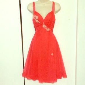 VTG 1960s flawless chiffon gown